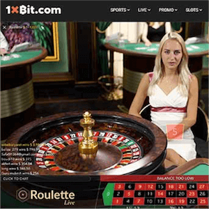 1xbit Roulette evolution